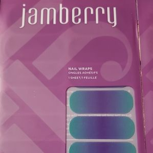 Jamberry turple ombre